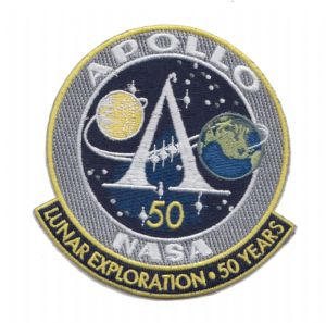 NASA Apollo Program 50 Years of Lunar Exploration Patch